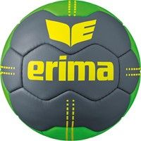 Erima Pure Grip No. 2 Handbal - Cool Grey / Green / Geel