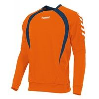 Hummel Team Sweater - Oranje / Marine / Wit