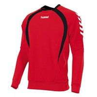 Hummel Team Sweater - Rood / Zwart / Wit