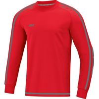 Jako Striker 2.0 Keepershirt Lange Mouw Kinderen - Rood / Antraciet