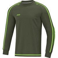 Jako Striker 2.0 Keepershirt Lange Mouw - Khaki / Fluo Groen
