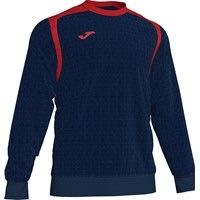 Joma Champion V Sweater - Donker Navy / Rood