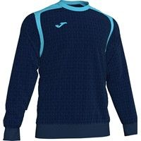 Joma Champion V Sweater - Donker Navy / Fluor Turquoise
