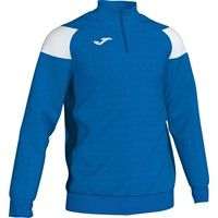 Joma Crew III Ziptop - Royal / Wit