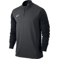 Nike Squad 14 Midlayer Kinderen - Anthracite / Black / Electric Green / White