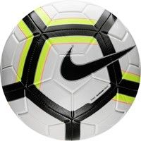 Nike Team Strike Trainingsbal - Wit / Fluogeel / Zwart