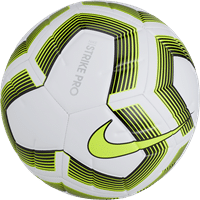 Nike Strike Pro Team (5) Trainingsbal - Wit / Fluogeel