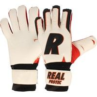 Real Protec Keepershandschoenen - Wit / Zwart / Rood