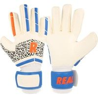 Real Europe Keepershandschoenen - Wit / Rood / Blauw / Zwart