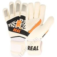 Real Dynamic Keepershandschoenen - Wit / Zwart / Oranje