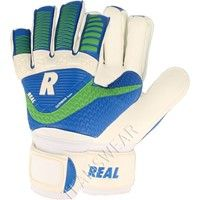 Real Match Keepershandschoenen Kinderen - Wit / Royal / Groen